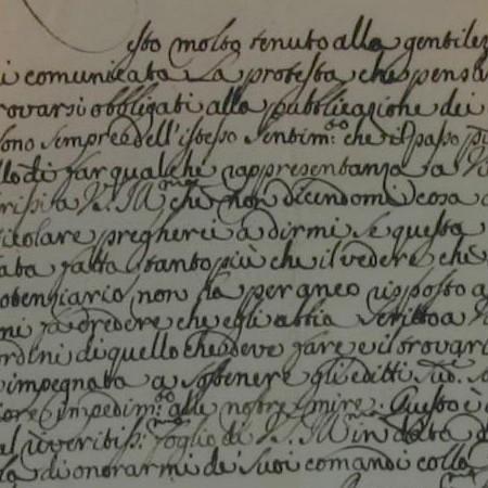 3 - Lettera di Filippo Corsin