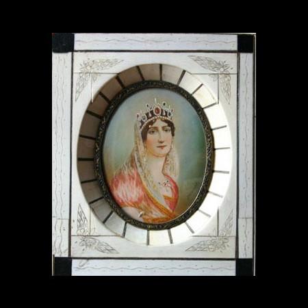 Miniatura di Giuseppina Beauharnais dipinta da Paul Delaroche.