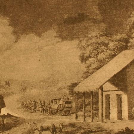 Stazione di posta chiamata El Rincón de Bustos