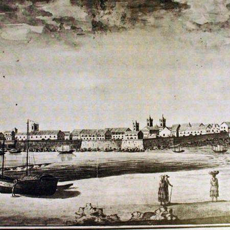 Veduta di Panama con parte del quartiere di Sant'Anna